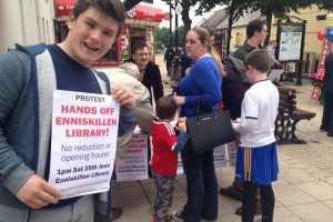 Library services again under threat