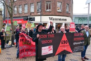 Fight for £10 minimum wage NOW!
