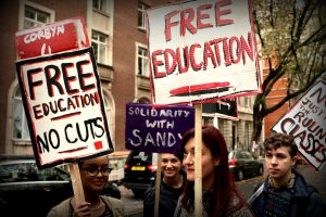 Fight for free, public education!