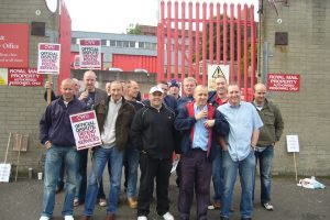 Royal Mail workers fighting back