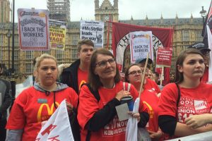 McDonald's strike: Organising the unorganised