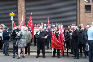 No to Paramilitary Intimidation! – End the threat to Probation Board staff