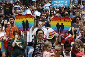Australia: Massive YES vote to marriage equality