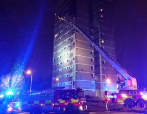 Coolmoyne House Fire – Lessons of Grenfell Not Learned