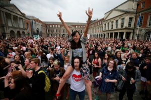 Historic victory for social progress: Landslide vote to repeal Ireland's abortion laws