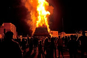 Bonfire debate can ignite conflict