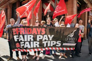 TGI Fridays strike latest in young workers' struggles