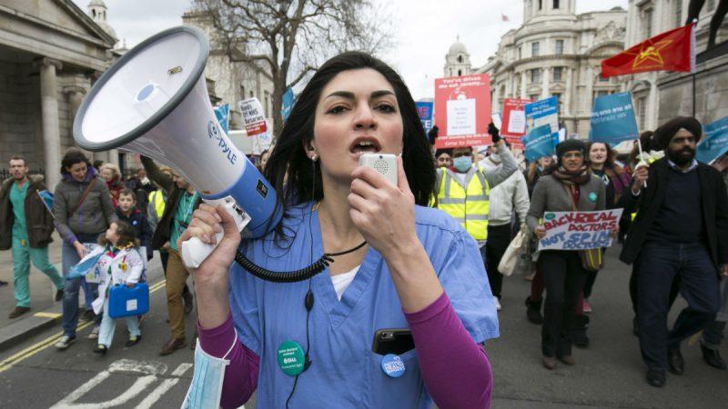 NHS Staff Reaching Breaking Point