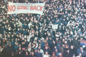 No going back! – For workers' unity against sectarianism and austerity