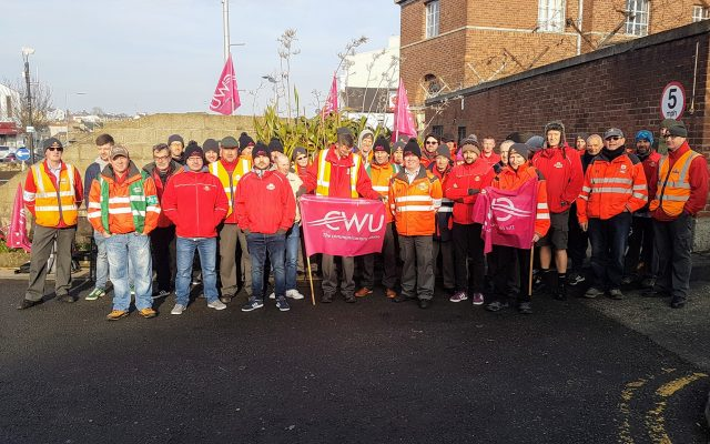 CWU victory over Royal Mail bullying in Bangor