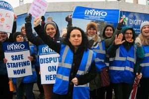 South: Nurses' & midwives' strike wins pay concessions Northern health unions should follow suit
