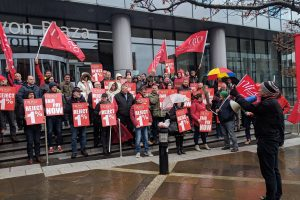 Support civil servants' strike against poverty pay