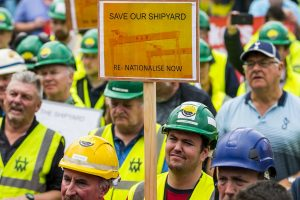 Victory to the Shipyard workers!
