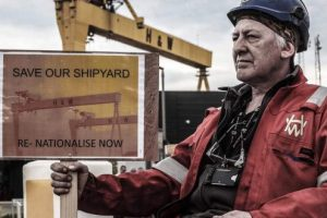 Harland & Wolff Occupation: Historic struggle saves jobs