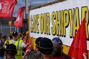 Harland & Wolff and Wrightbus: Workers save jobs and show their power